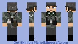 WW2 Wehrmacht Infanterie Splittermuster A Minecraft