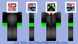 Mr. Brain Head Minecraft Skin