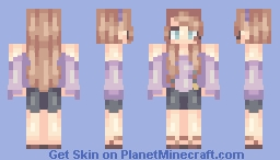 OC (yes, I do have too many but hey it's the 21st century so go away haters) Minecraft Skin