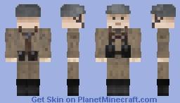 East German Soldier - Nationale Volks Armee (NVA) - Soviet/Eastern Bloc Minecraft Skin