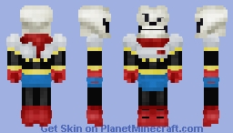 Undertale - The Great Papyrus! Minecraft
