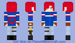 -=REQUESTS OPEN=- MCR: Party Poison Minecraft Skin