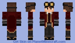 ProfessorMarcus (Request) Minecraft Skin