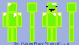 Slime!!! Minecraft Skin