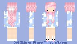 ღ [̲̅ѕ̲̅][̲̅н̲̅][̲̅ι̲̅] pastel clouds ღ Minecraft Skin