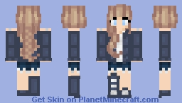 That girl that lives round the corner. Minecraft Skin