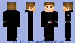 General Hux (Remastered) Minecraft Skin