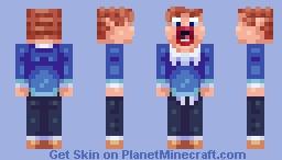 That surprised guy from Australia's Got Talent Minecraft Skin