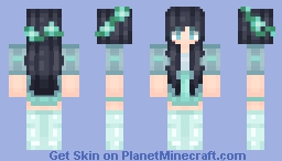 『OLD』I'd rather wear flowers in my hair Minecraft Skin