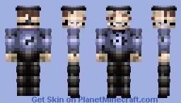 TRTF 5 Lockjaw/Frank Burt Minecraft Skin