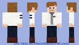 David Bowie Minecraft Skin