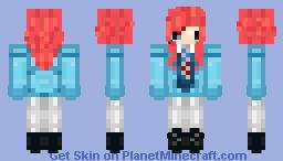 David Bowie Ziggy StarDust/ Aladdin Sane Minecraft Skin