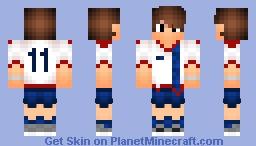 Soccer Teen Minecraft Skin