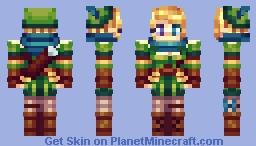 ✿๑ ▪ Fєℓiηкa ▪ ๑✿ ~ Hunterka. Minecraft Skin