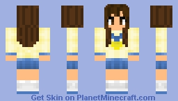~Corpse Party Girl~ Minecraft Skin
