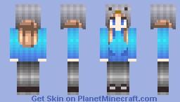 GummieKat   Owl Moon's REQUEST! P.S. THANKS FOR 60 SUBDOMINANTS Minecraft Skin