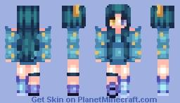 ♫♠ Abandon3dRain♫♠ Lola Starfield (NewShading?+ CONTEST RESULTS) Minecraft Skin