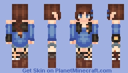 OC ~Allannia~ Minecraft Skin