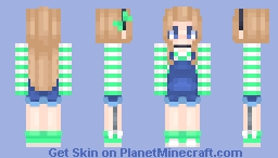 ๏кค๓เ~ I Think I'm Obsessed with This Hair Color o.o Minecraft Skin