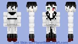 Haise Sasaki (Tokyo Ghoul :re) Minecraft Skin