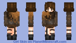 ~Dusty Owl~ Minecraft Skin