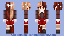 Peppermint Mocha ♥ Minecraft Skin