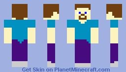 craftPOP! Steve Minecraft Skin