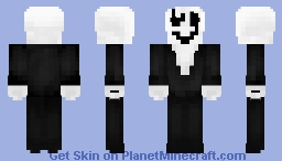 Undertale - W. D. Gaster Minecraft Skin