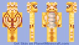 Golden Dragon + Speedpaint Minecraft