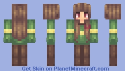 Greetings, I am Chara. Minecraft Skin