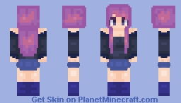 I don't know what this is, I just kinda made it. Minecraft Skin