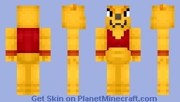 Botamo -Universe 6 Fighter- Minecraft Skin