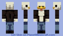 The Cluckinator Minecraft Skin