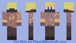 Blond Bandit Minecraft Skin