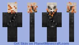 Ghost Rider / Johnny Blaze Minecraft Skin