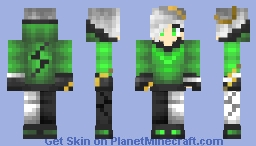 green~ Minecraft Skin