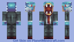 Gyarados in a suit (updated) Minecraft Skin