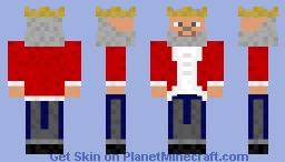 King of the Steves: Revamped Minecraft Skin