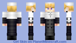 '' Justin Law ''▐ ジャスティン法 ▐ Soul Eater Minecraft Skin