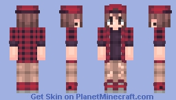 I've been very inactive lately, so here. Minecraft Skin