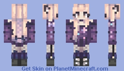 Luna + Art Minecraft Skin