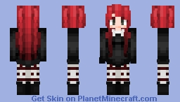 I miss my old hair.. •Personal• (Fixed) Minecraft Skin