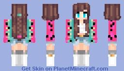 JuicyMelon(◠ω◠✿) Minecraft Skin