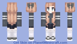 what am i doing Minecraft Skin