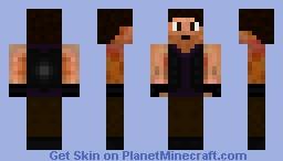Adventure/Biker Girl Minecraft Skin