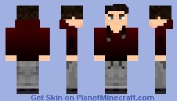 Roy Harper Minecraft Skin