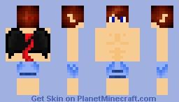 c19f969c7c Demon Boy (Bathing Suit) Minecraft Skin