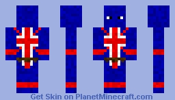 Union Jack Minecraft Skin