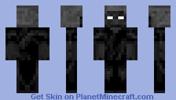 Withered Steve Minecraft Skin