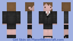 Agent Dana Scully, ( The X FILES ) Minecraft Skin